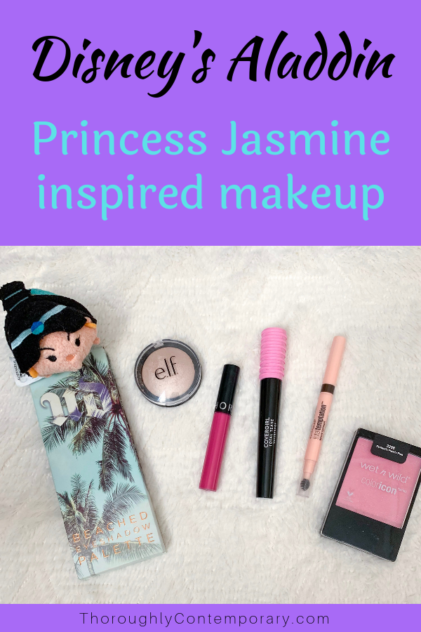 Princess Jasmine Makeup Look